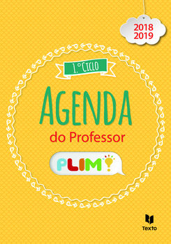Agenda do Professor 1.º Ciclo PLIM! 2018-2019