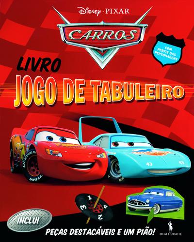 Leyaonline - Livro Jogo De Tabuleiro - Carros - DISNEY