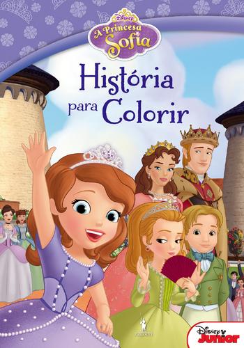 Leyaonline A Princesa Sofia Historia Para Colorir Disney