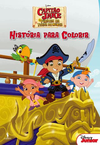 leyaonline capitão jake e os piratas da terra do nunca história