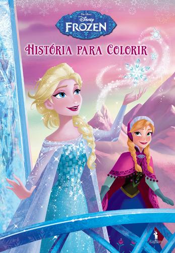 Leyaonline - Frozen - História Para Colorir - DISNEY